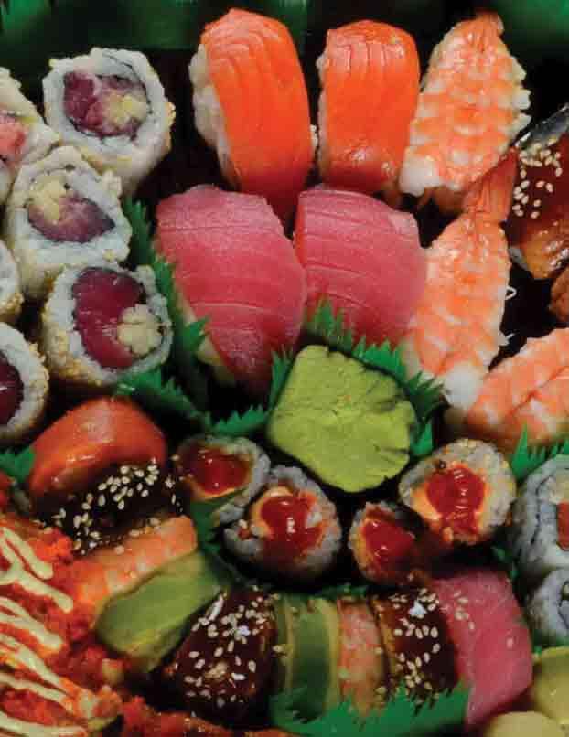 Freshly Rolled Sushi Platter